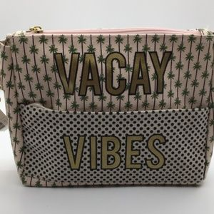 """""""Vacay Vibes"""" Wristlet Front Pouch"""